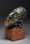 Prayer - Bronze sculpture, 21cm, 2018