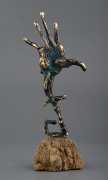 Insight, Bronze sculpture, 26cm, 2018